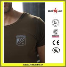 De alta qualidade Freearmy OEM impressão casal t-shirt