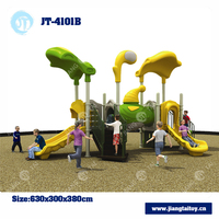 JT-4101B kids rocket used commercial outdoor playground equipment for sale