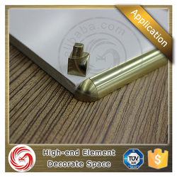 Quickly delivery time aluminum tile outside corner trims