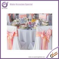 k5568 kaiqi coral wedding party decor crystal chair sashes