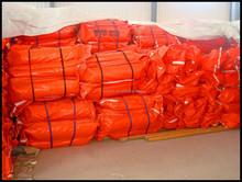 New PVC Solid Oil Spill Containment Boom For Sea Environment Protection