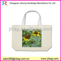 Exclusive Personalized Cheap 100% natural cotton canvas twill shopping handmade tote bags with bottom guest