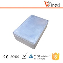 IP 65 Aluminum din rail enclosure junction box