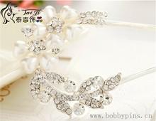 Wedding Bridal Hair Accessories Hair Sticks Rhinestone Flower Tiara