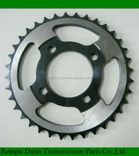 Dajin 1045 motorcycle sprockets kits/motorcycle parts chain sprocket/suzuki ax100 parts