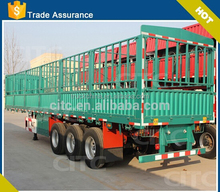 Chinese brand 3 axle CIMC fence semi trailer