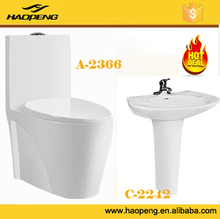 S TRAP P TRAP WASHDOWN ONE PIECE WC TOILET SET