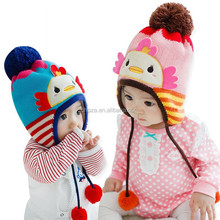 C22208B Wholesale Children Winter Lovely Knitted Hats Babies Hats