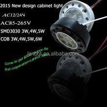 AC12V3/24V 1W 3 Mini led cabinet Ligh/ low power led cabinet light,
