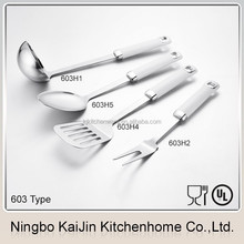 KAIJIN Kitchen 603 series 2015 new design best on sale stainless steel cooking set