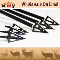Wholesale fixed 3 blade 100grain hunting Broadheads popular sale