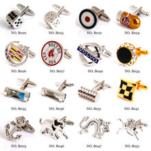 Best Men fashion cuff link sets China cuff link manufature Customised logo is welcomed