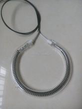 Heater tube element for incubator