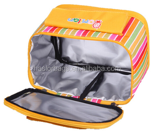 2015 portabilité coloré sacs à Lunch pour adultes
