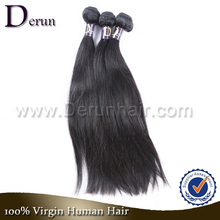 """Silky Straight Wave 10""""-30"""" Grade 5A Wholesale 100% Natural Remy Human Virgin Indian Hair"""