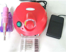 Nail Art Equipment 35000 Professional electric nail drill file machine manicure pedicure bits kit with foot pedal Nail polish,