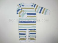 baby rompers with padded protection