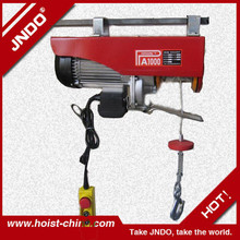 Top Quality Approved 100kg to 1ton Motors Electric/Electric Wire Rope Hoist