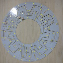 D272*1.2 mm suspended ceiling light led pcb made in P.R.C foshan manufacturer