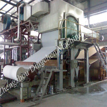 1092mm 2T/D small business manufacturering machine to produce tissue paper and toilet paper