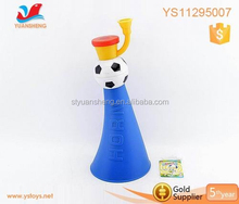 Loud horn for football game plastic toy horn football fan mini vuvuzela