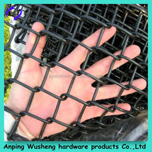 Home garden pvc coated / hot dipped galvanized chain link fence /Professional factory supply galvanized garden chain link fence