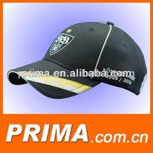 custom made black fitted baseball hat cap