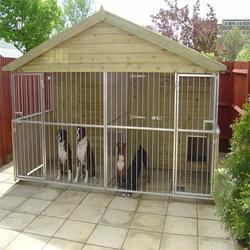 galvanized dog kennel chain link dog cage Alibaba hot sale dog kennel
