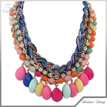 Promotional latest design Jewelry beads necklace for good design