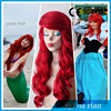 Cheap synthetic halloween hair party wig with side swept bang can custom-made