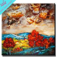 Handmade textured painting modern canvas paintings