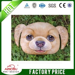 2015 new design dog product / wholesale dog face shiba inu pillow