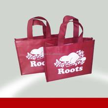 2015 cheap price non woven customized shopping bags for promoiton