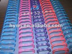 colourful double loop wire o in stationery