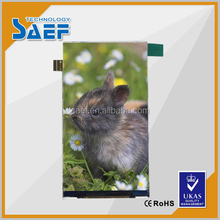 4.5inch IPS lcd screen RGB 540*960 dots connector type without TP