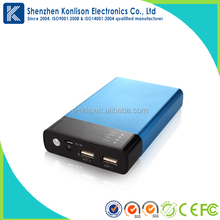 2.1A portable USB mobile charger for travel