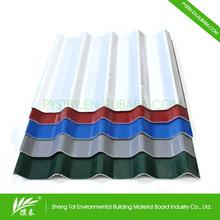 Colored coated corrugate zinc aluminium roofing sheet