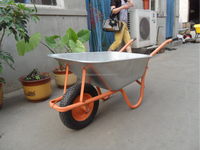 wb6385 Durable agricultural tools and uses wheelbarrow