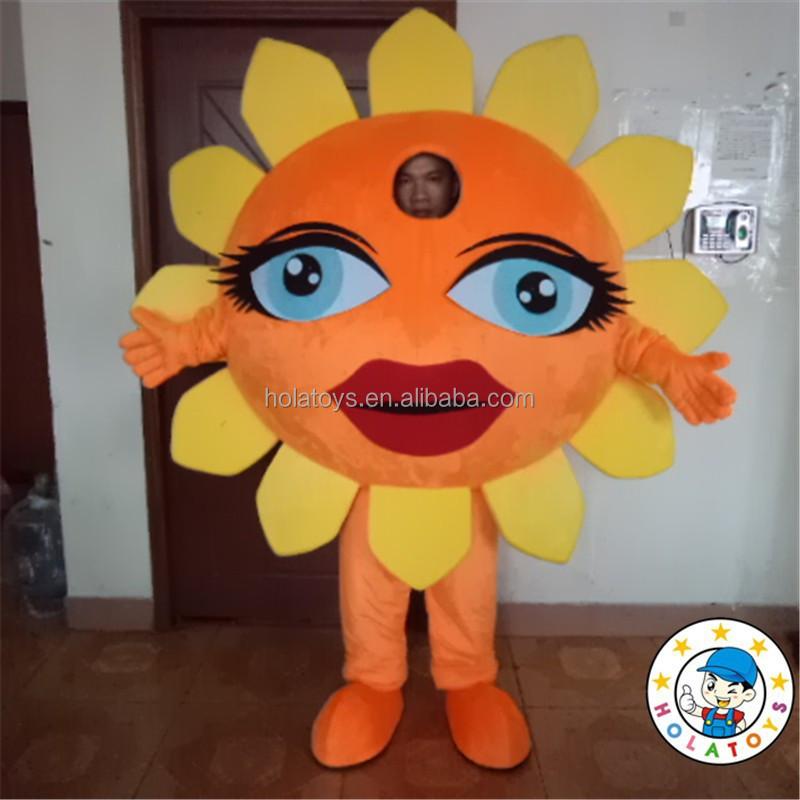 Sun Costume Sun Flower Mascot Costume For