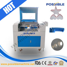 Gold supplier Possible brand Low price 60w laser engraving machine coconut shell craft