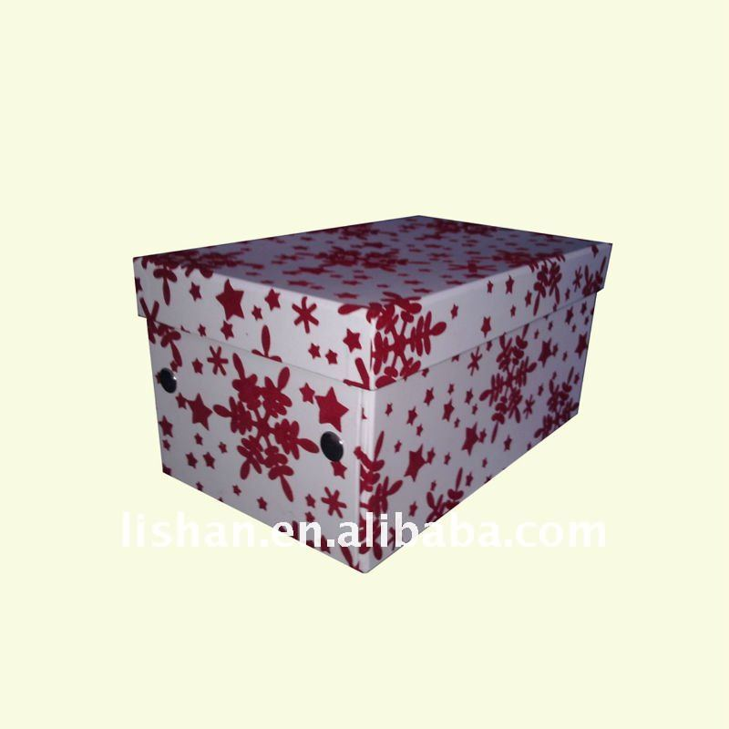 Decorative Boxes For Paper Storage : Cd dvd folding decorative paper storage box buy