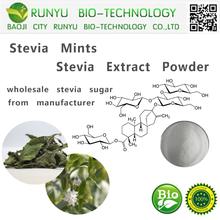 CAS 57817-89-7 stevia extract powder 95% TSG 99% RA stevia sugar stevia mints