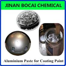 Vacuum metal mirror effect silver paste for decorative nail polish
