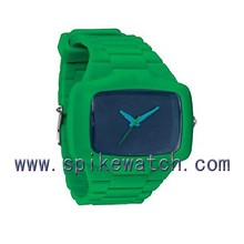 Top selling unisex teenage sports assorted colors silicone watches