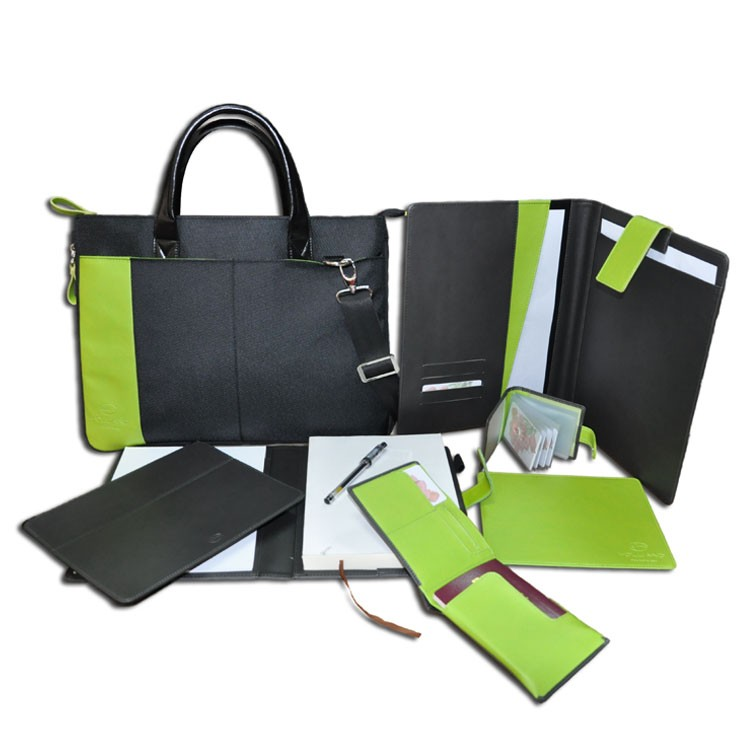 Promotion classical leather business office stationery men gift sets.jpg