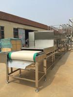 charcoal/briquette drying machine/ continuous belt microwave drying machine / food microwave tunnel dryer
