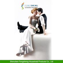 """Wedding Cake Topper """"So Much in Love"""" Bride and Groom Wedding Engagement Party"""
