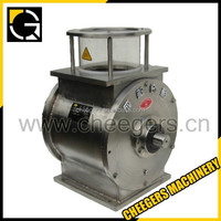 Cement Storage silo discharge Electric Flow Control Valves& Rotary airlock feeder valve