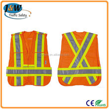 Promotion!!! Cheap Safety Vest / Strap Safety Vest / China Reflective Safety Vest