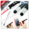 iT05s promotional gift , stylus pen for smart phone and ball pen with led flashlight and laser pointer , office supplies